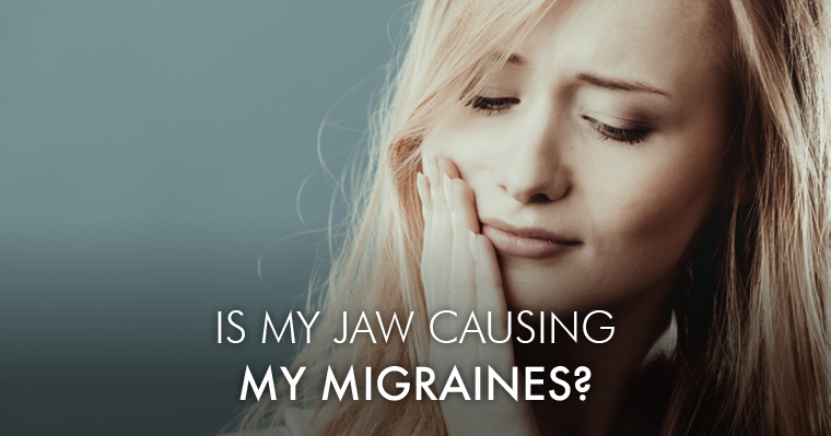 Is my TMJ causing my migraines?