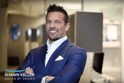 Video preview image of Dr. Shawn Keller who's going to talk to you about same-day dental implants