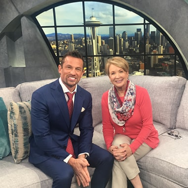 Dr. Shawn Keller on Seattle's local TV show New Day Northwest to discuss the latest breakthroughs in dentistry